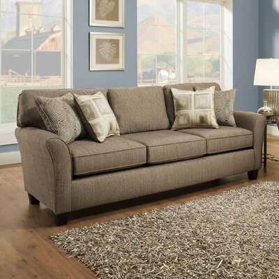 Nancy Sofa Upholstery: Pewter