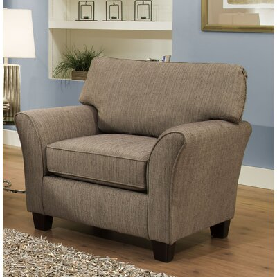 Nancy Arm Chair Color: Pewter