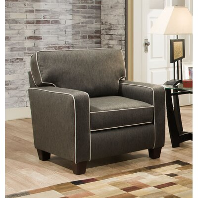 Abbot Armchair Color: Charcoal