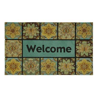 Bahr Sunburst Floral Doormat