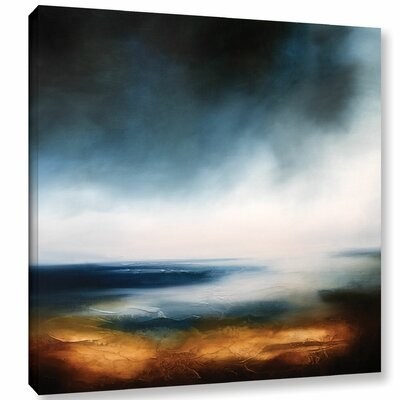 Echoes of The Ocean Painting Print on Wrapped Canvas Size: 10