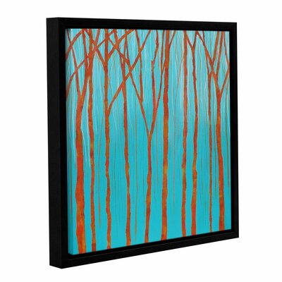 Visceral Effect Framed Painting Print on Wrapped Canvas Size: 10