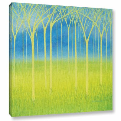 Graceful Graphic Art on Wrapped Canvas Size: 10