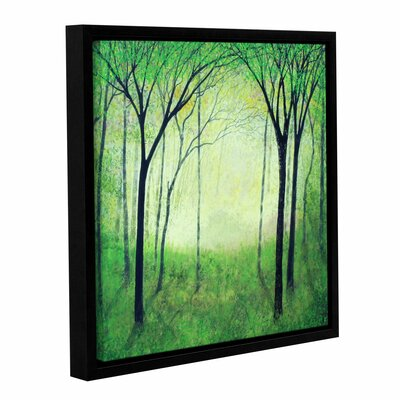 Gutas Forest Framed Painting Print on Wrapped Canvas Size: 10