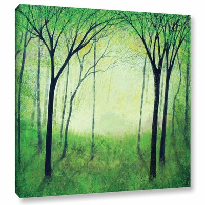 Gutas Forest Painting Print on Wrapped Canvas Size: 10