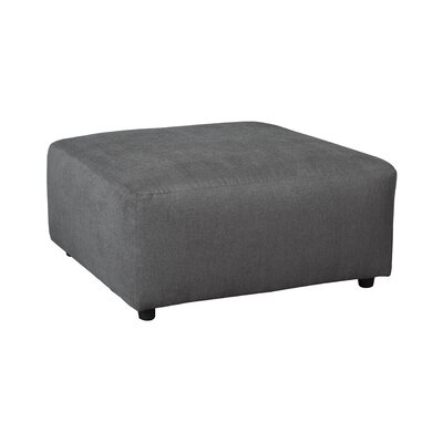Sellersville Cocktail Ottoman Upholstery: Steel