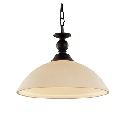 Willowbrook 1-Light Rubbed Oil Bronze Inverted Pendant