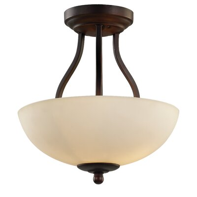 Willowbrook 2-Light Semi Flush Mount