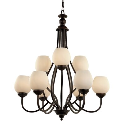 Willowbrook 9-Light Shaded Chandelier