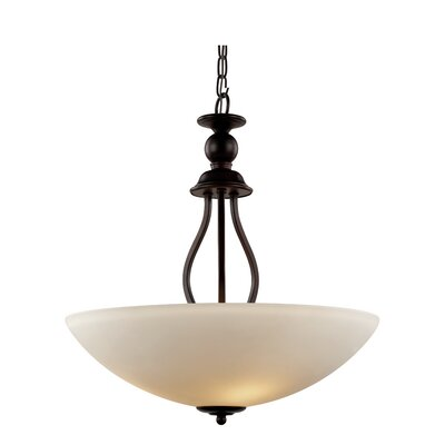 Willowbrook 3-Light Bowl Pendant Size: 16 x 15.75 W