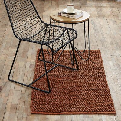 Baxter Hand-Woven Amber Area Rug Rug Size: 23 x 4