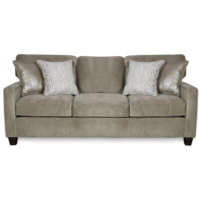 Doric Sofa Upholstery Color: Fusion Platinum