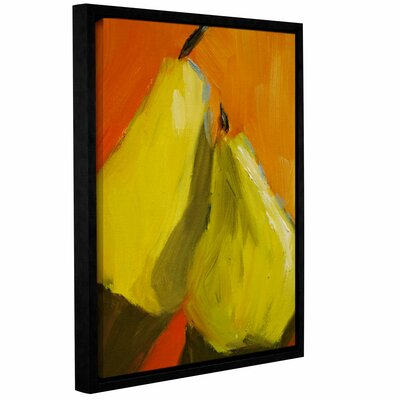 The Secret Framed Painting Print on Wrapped Canvas Size: 18