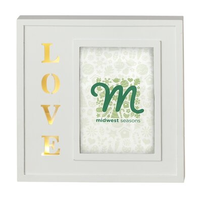 Lighted LED Love Picture Frame (Set of 2)
