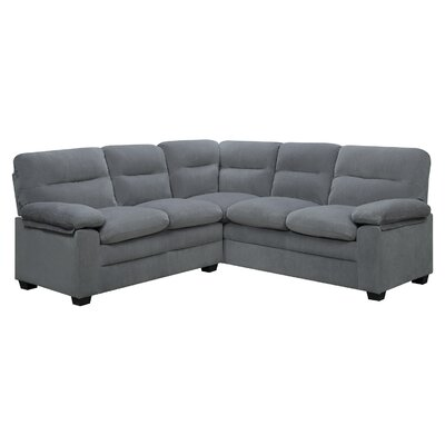 Cecelia Sectional Upholstery: Dove