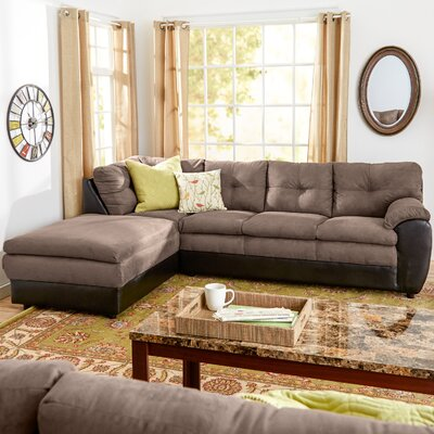 Brewster Sectional Upholstery: Pewter