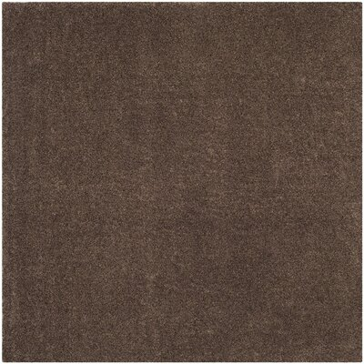 Curran Brown Area Rug Rug Size: 4' x 6'