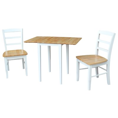Brewington 3 Piece Dining Set