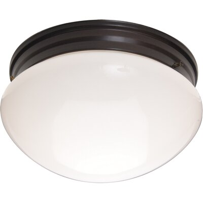 Slatington 2-Light Flush Mount Finish: Oil Rubbed Bronze