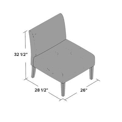 Drury Accent Slipper Chair