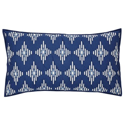 Philipsburg Sham Size: Luxury, Color: Indigo