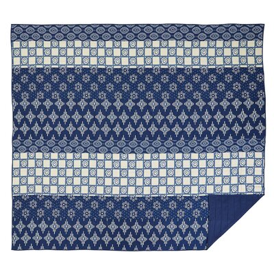 Philipsburg Quilt Size: Queen, Color: Indigo