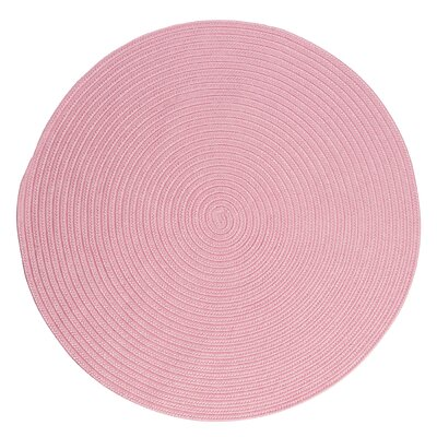 Mcintyre Light Pink Indoor/Outdoor Area Rug Rug Size: Round 12