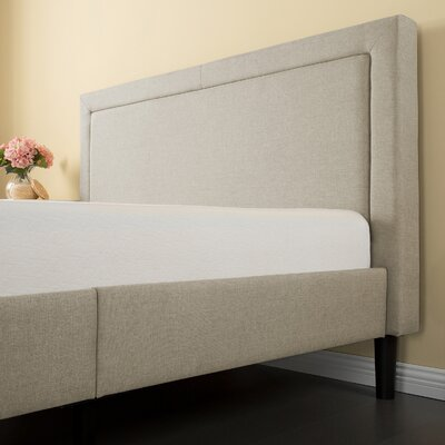 Mariel Upholstered Platform Bed Size: King