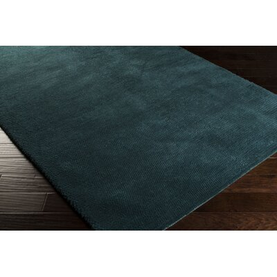 Tully Teal Green/Peacock Green Area Rug Rug Size: 2 x 3