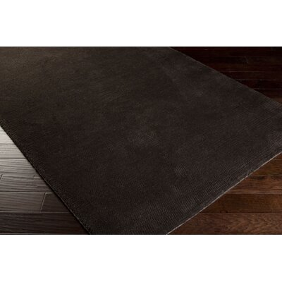Tully Charcoal/Chocolate Area Rug Rug Size: Rectangle 5 x 8