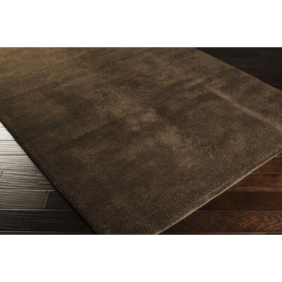 Tully Mocha/Chocolate Area Rug Rug Size: Rectangle 5 x 8