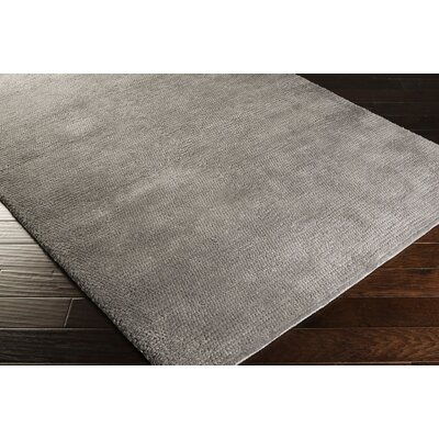 Tully Dove Gray/Pigeon Gray Area Rug Rug Size: 2 x 3