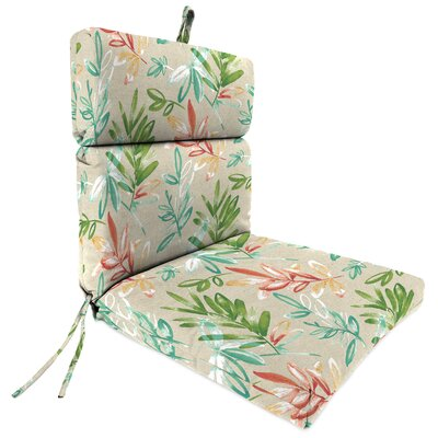 Outdoor Dining Chair Cushion Fabric: Menillo Opal