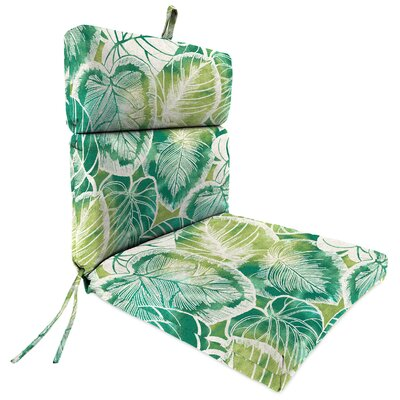 Outdoor Dining Chair Patio Cushion Fabric: Keycove Lagoon