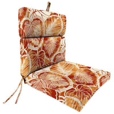 Outdoor Dining Chair Cushion Fabric: Keycove Cayenne