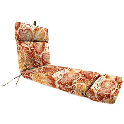 Outdoor Chaise Lounge Cushion Fabric: Keycove Cayenne
