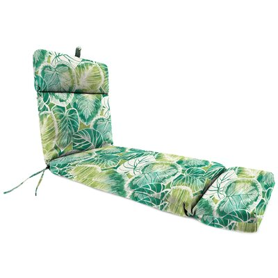 Outdoor Chaise Lounge Cushion Fabric: Keycove Lagoon
