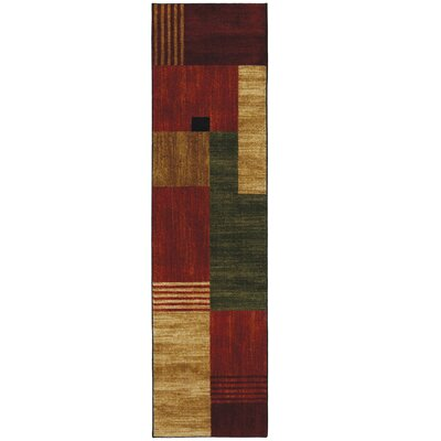 Calvin Geometric Area Rug Rug Size: Rectangle 16 x 28