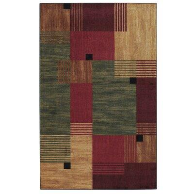 Calvin Geometric Area Rug Rug Size: Rectangle 25 x 38