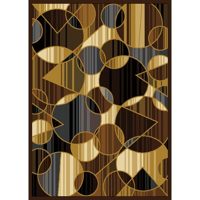 Derrymore Brown Area Rug Rug Size: Rectangle 78 x 104