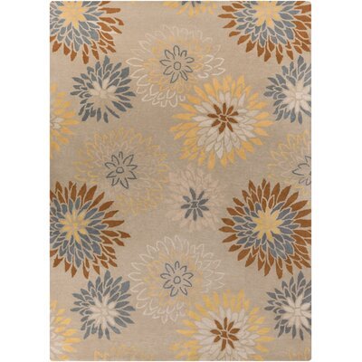 Hayden Oyster Gray Area Rug Rug Size: Rectangle 8 x 11