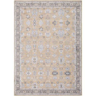 Akins Neutral Area Rug Rug Size: Rectangle 53 x 76