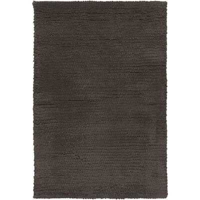 Tully Charcoal Gray Area Rug Rug Size: 5 x 8
