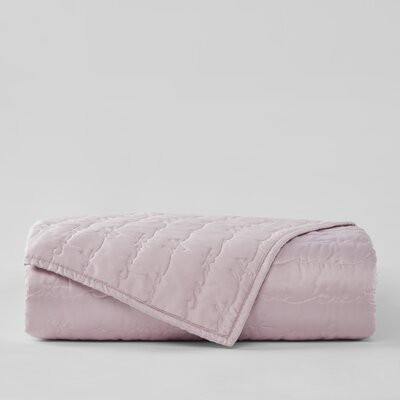 Sebring Coverlet Color: Pink, Size: King