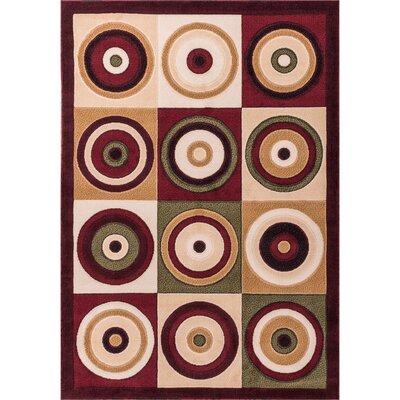 Macfoy Geometric Area Rug Rug Size: 710 x 910