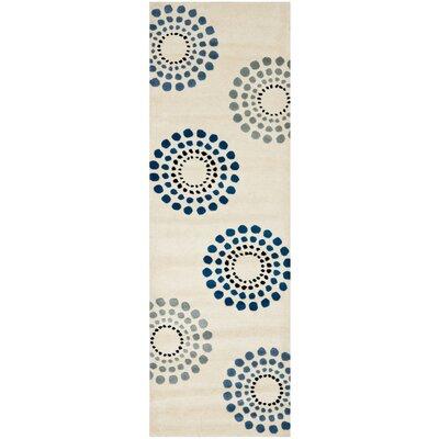Holder Ivory Rug Rug Size: 26 x 4