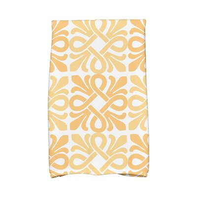 Hand Towel Color: Yellow