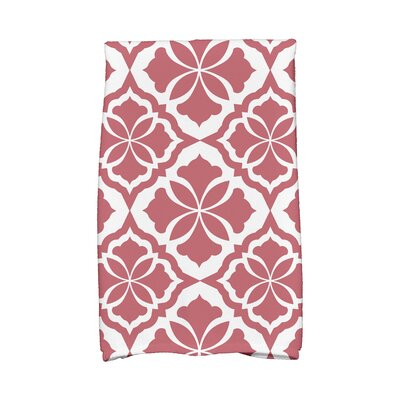 Hand Towel Color: Red
