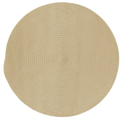 Rainsburg Linen Outdoor Area Rug Rug Size: Round 8