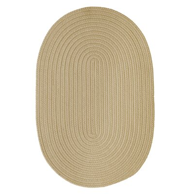 Mcintyre Linen Outdoor Area Rug Rug Size: Oval 2 x 4